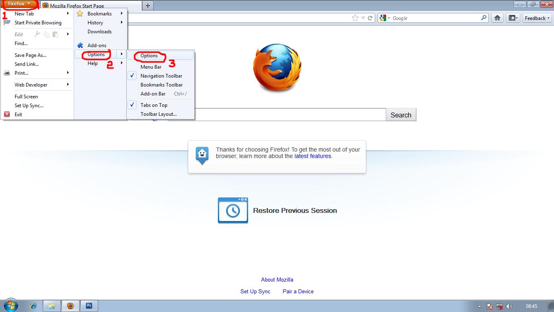 4 proxy server options