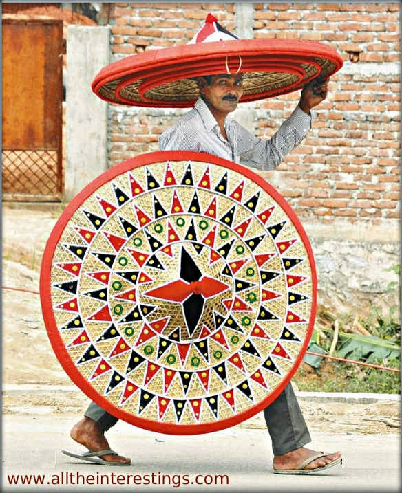 Biggest Hand made Traditional hat in India, Assam