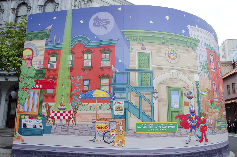 Cool Murals Sesame Street Graffiti