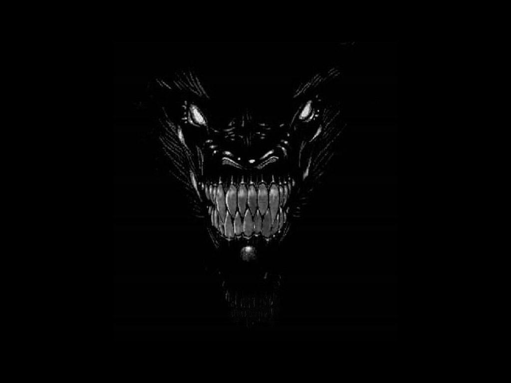 Evil Dragon Face