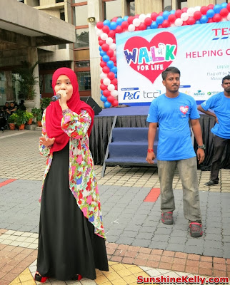 Tesco Walk, Walk For Life 2013, Fitness, charity walk, Clubcard Cop Cop Day Challenge, university of malaya, help children with leukaemia, najwa latif