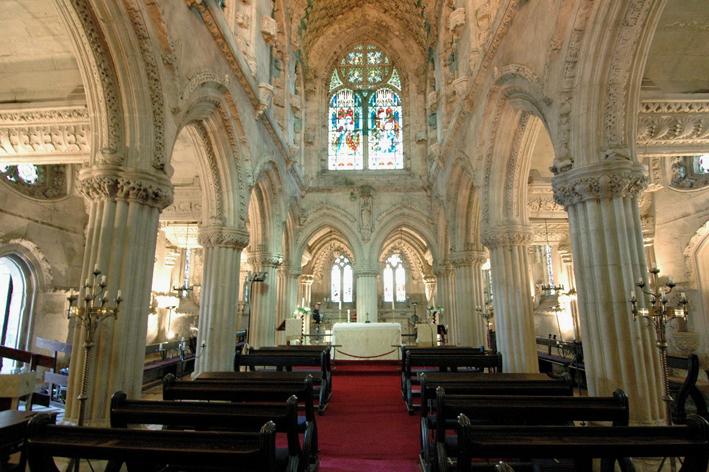 The Lothians A Sentimental Visit To Rosslyn Chapel