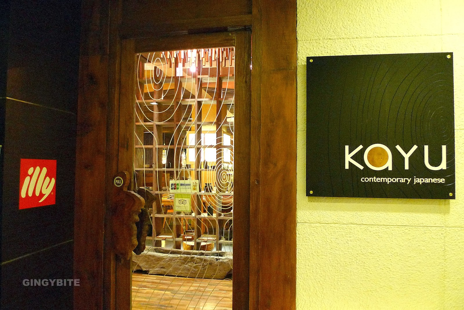 Kayu - Comtemporary Japanese Restaurant
