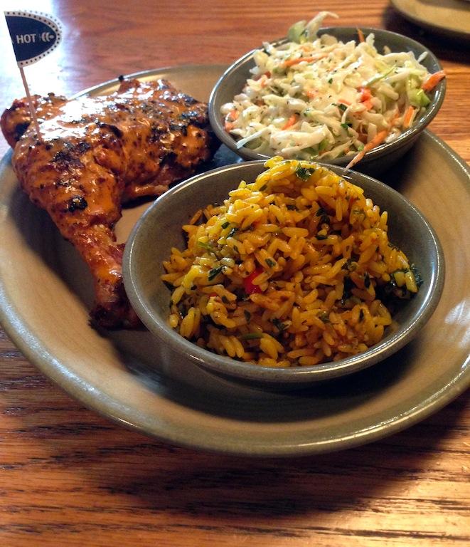 Nando's PERi-PERi Chicken Food Review - DC Outlook