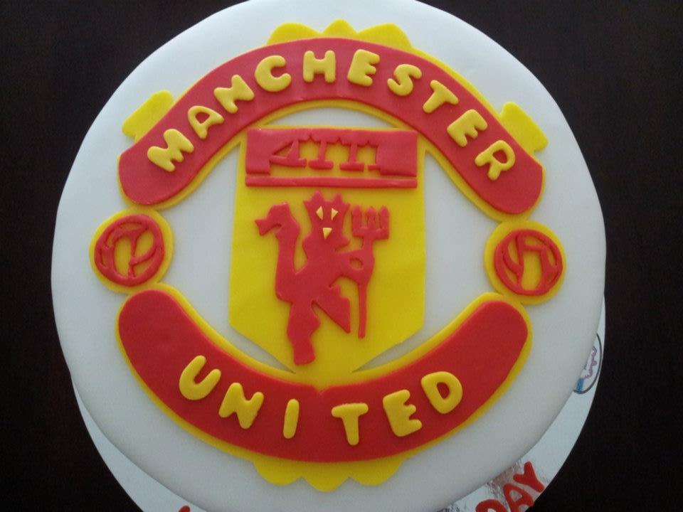 Manchester United Cake Big