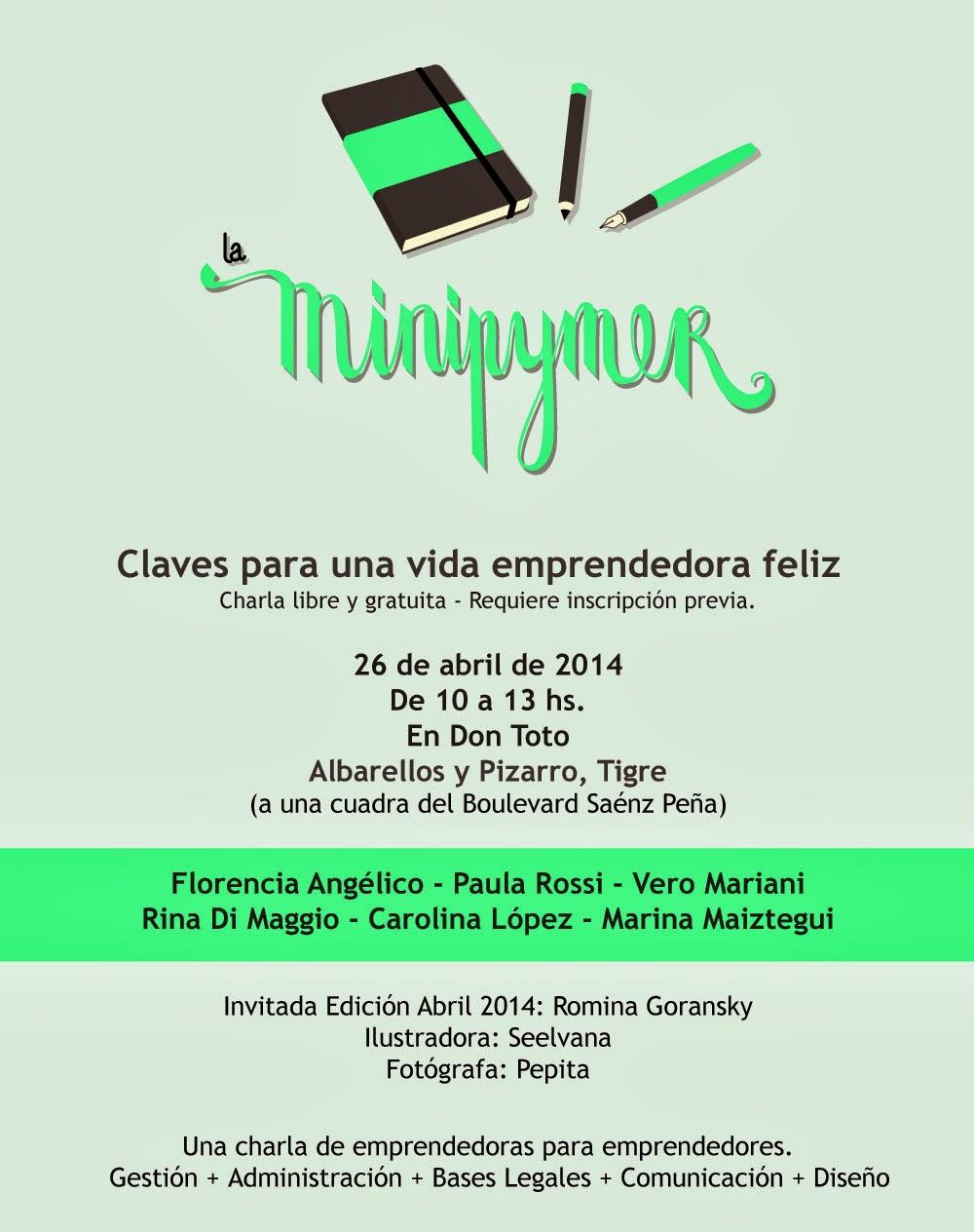Nueva Charla Gratuita de La Minipymer