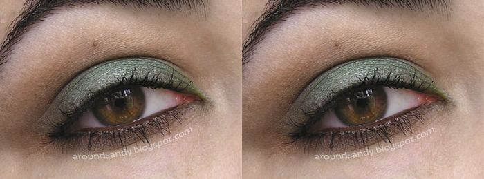 makeup green kiko MAC Mua Hean Sigma DIY look