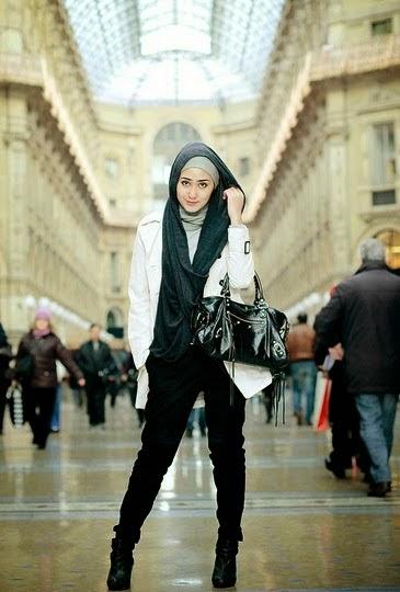 Style Hijab Untuk Cewek Tomboy Seribu Hijabers