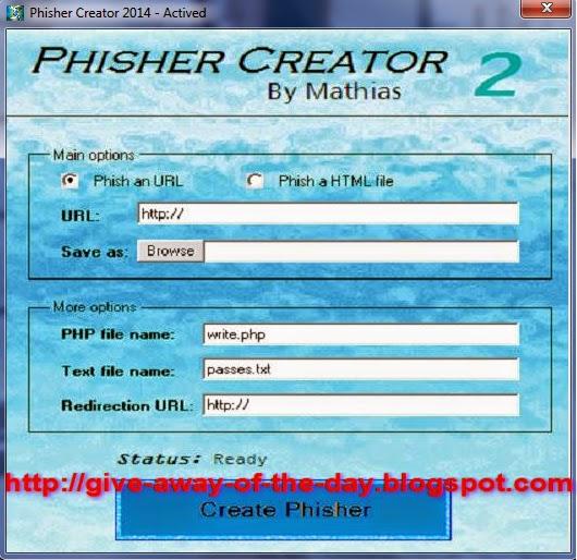 Phisher Creator 2014