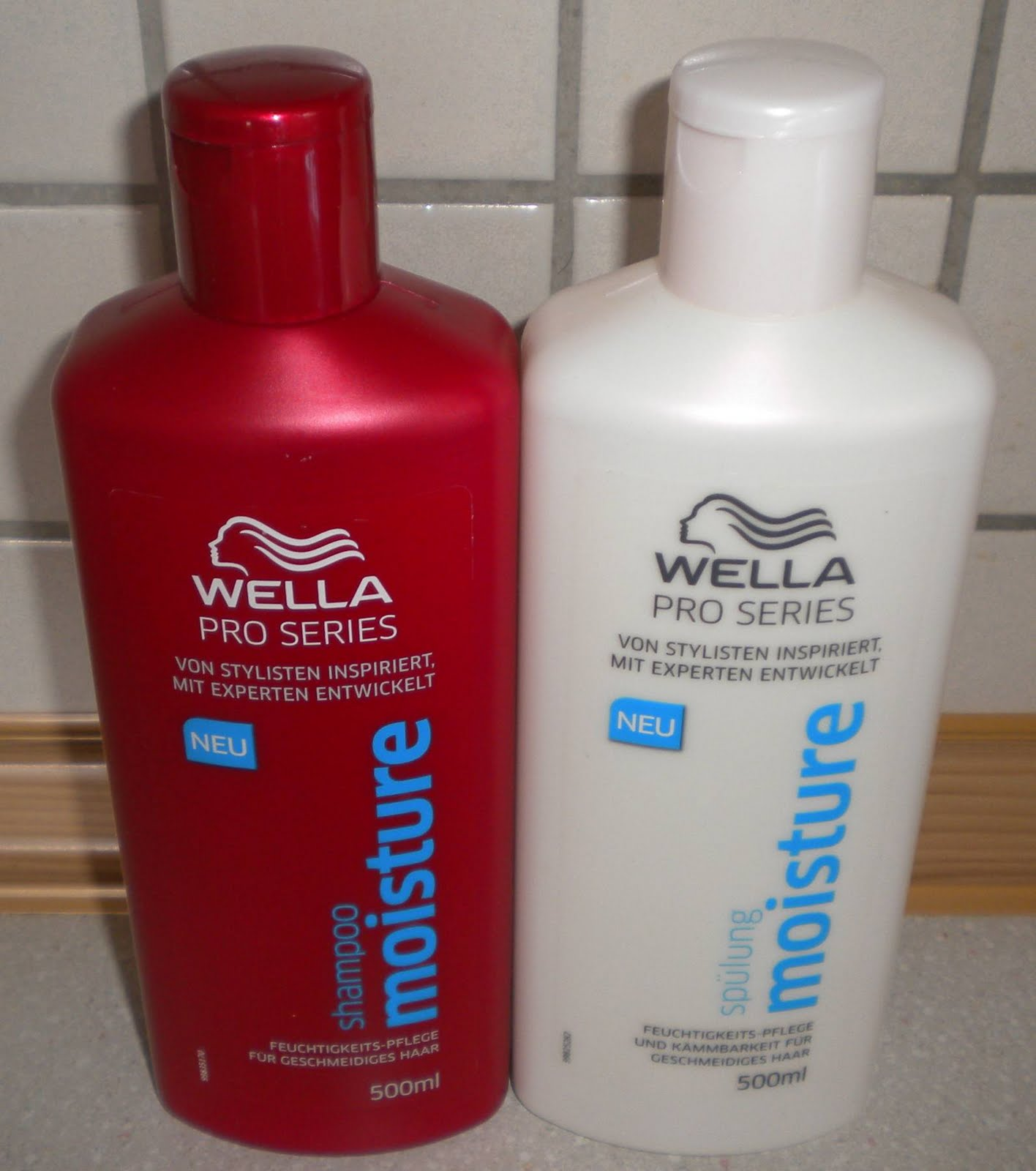 summers produkte blog wella pro series moisture. Black Bedroom Furniture Sets. Home Design Ideas
