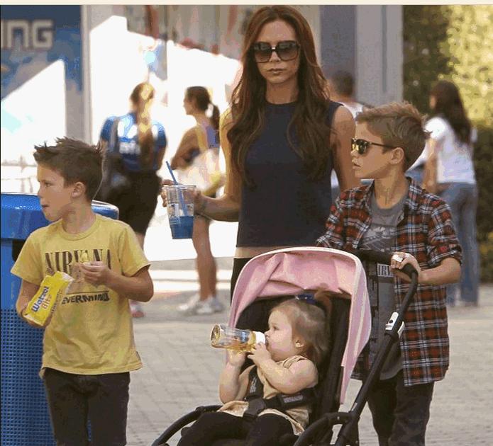 Victoria David Beckham children
