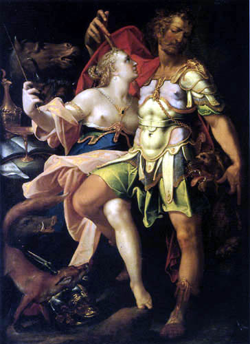 odysseus circe spranger