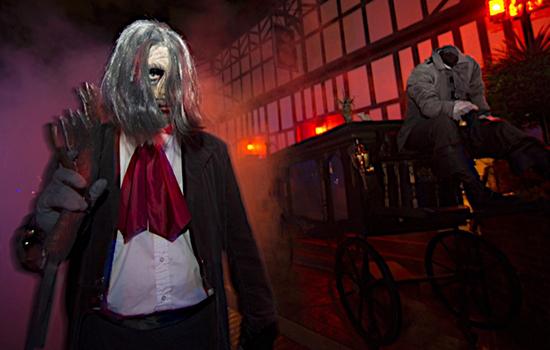 Celtic Pumpkin Busch Gardens Howl O Scream 2015