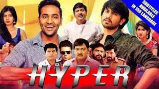 Hyper 2018 Hindi Dubbed 720p HDRip [840MB]