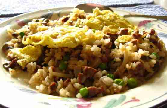 "Fried Rice With Egg Topping specials Korean ""Oma"""