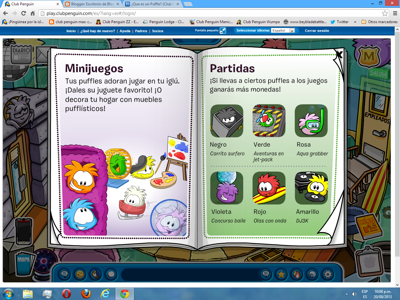 Club Penguin Max 2013 # Penguin Lodge Muebles