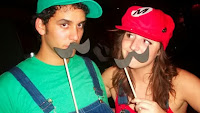 disfraces Mario Bros y Luigi