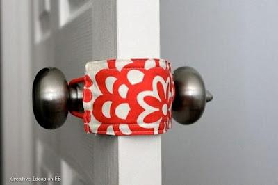 Creative Ideas for home, Idea for silent door closing.