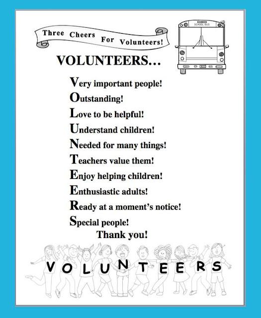 ... Volunteer Appreciation Poems besides Volunteer Appreciation Thank You