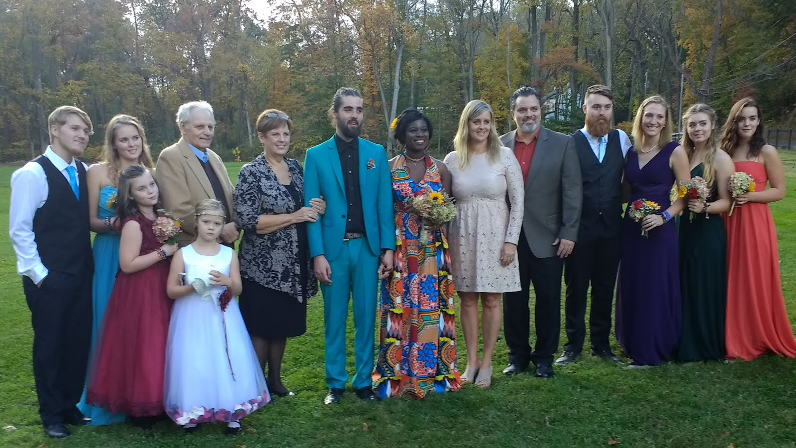 My family (from Calvin's wedding Oct 2017)...