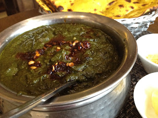 Sarson Ka Saag at Punjab Grill