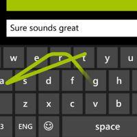 Word Flow Akan Hadir di WP 8.1, Ketik Teks Cepat di Touchscreen