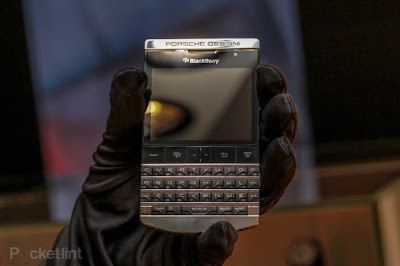 Auction Titanium & Carbon Fiber BlackBerry Porsche P'9981 from Harrods