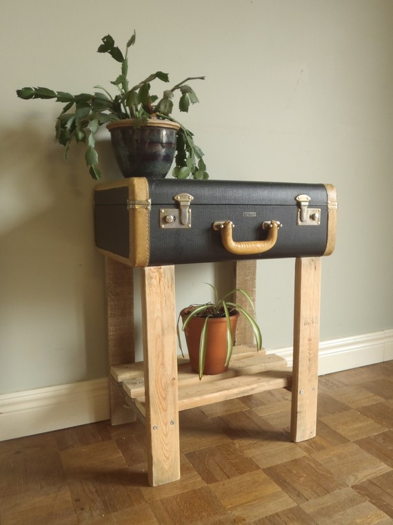 Gone Thrifting Vintage Suitcases Repurposed