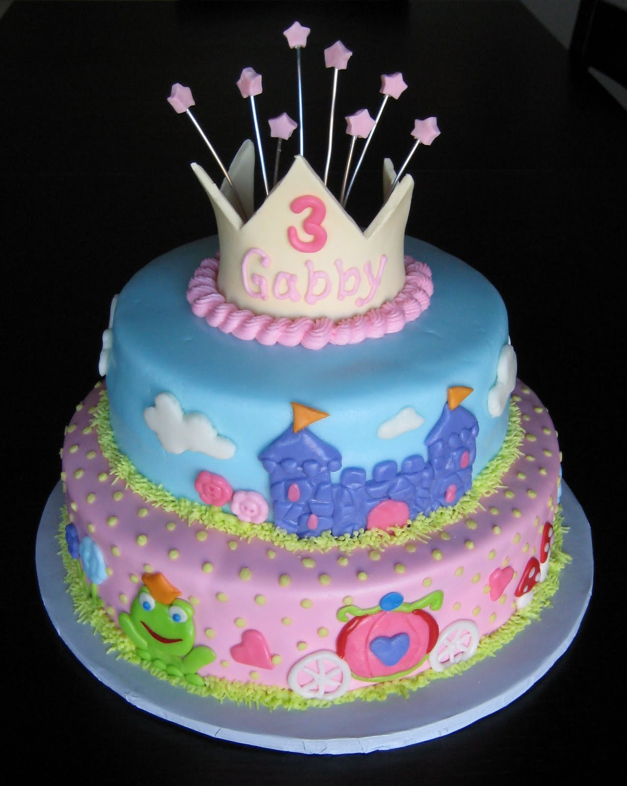 Cake Images With S : Custom Cakes by Julie: Princess Cake