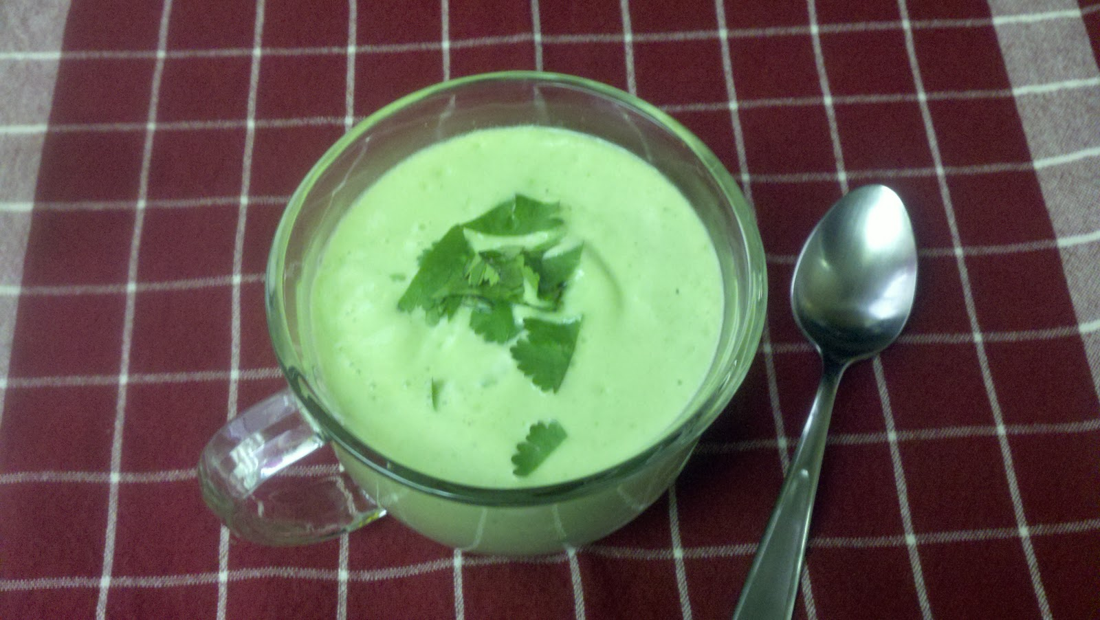 Passion For Excellence: CHILLED AVOCADO CUCUMBER SOUP