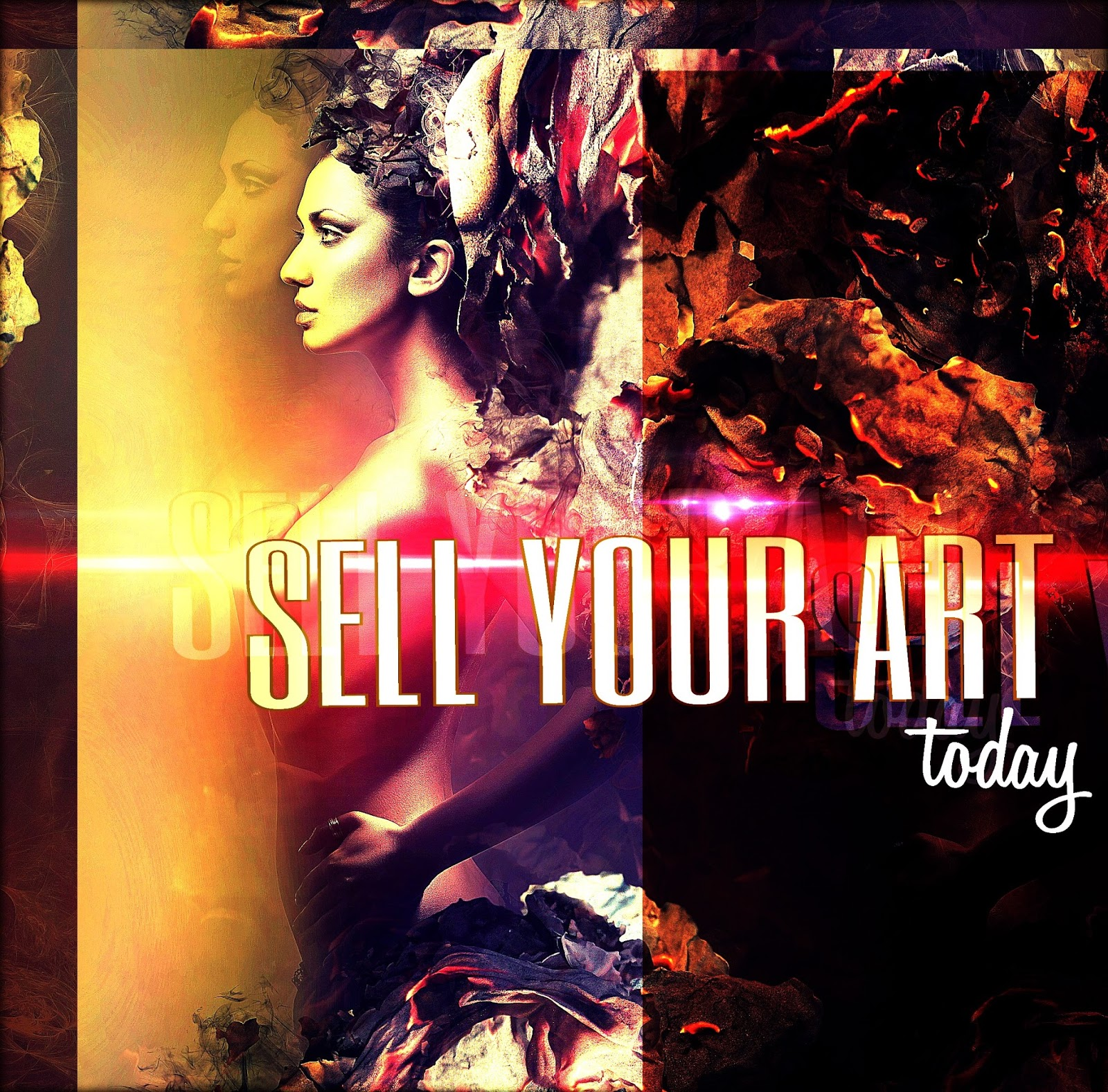 14 creative ways to promote your artwork and designs for Best way to sell art online
