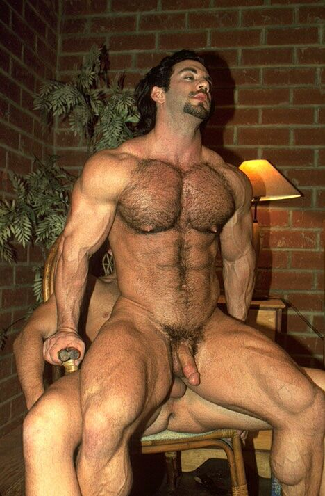 muscled hairy gay men sex photos