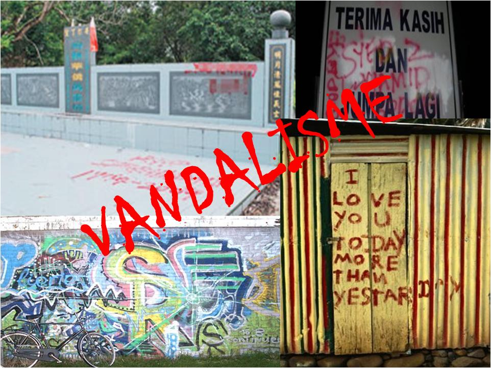 Vandalisme kian meruncing