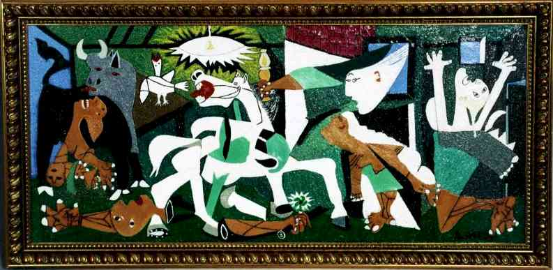 The story behind guernica painting by jitu das jitu das for Picasso painting names