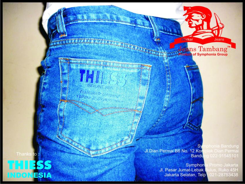 Jeans Karyawan Lapangan PT. THIESS Indonesia Melak Site