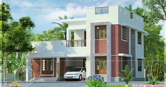 Low cost kerala home design in 730 square feet keralahousedesigns - Modern homes attic low cost ...