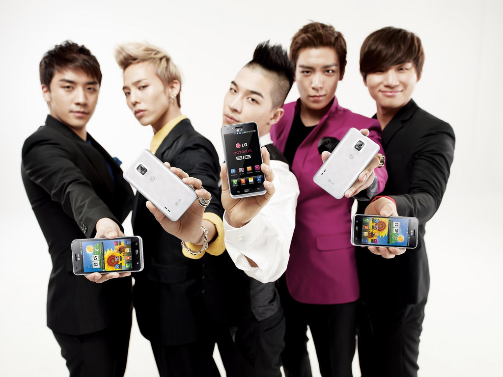 we love big bang  april 2011