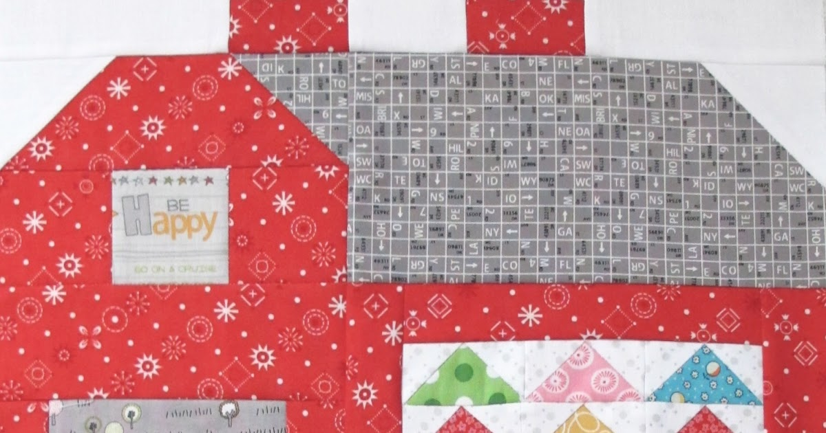 """The Quilty Barn Along - Barn 12 and Easy Flying Geese and """"Furrows"""" Block Tutorial!..."""
