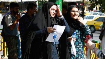 Ola de calor en Iran