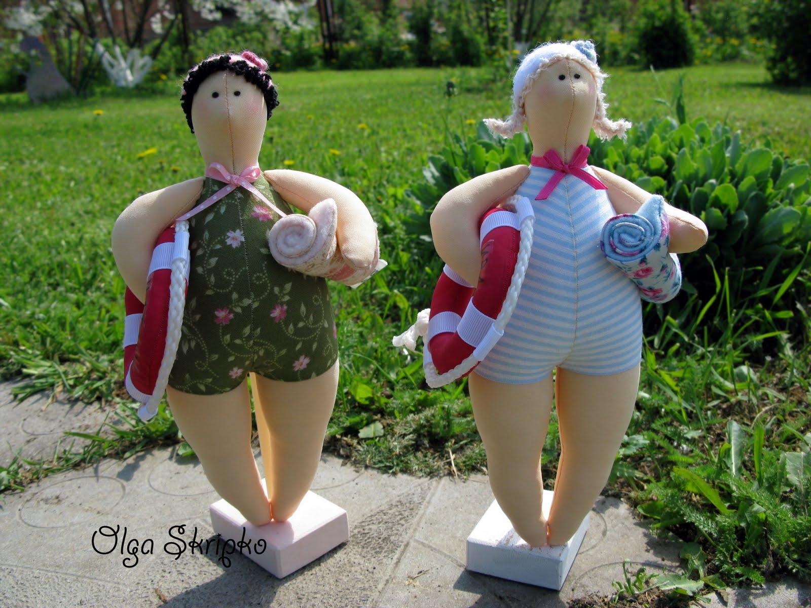 Кукла своими руками тильда купальщица