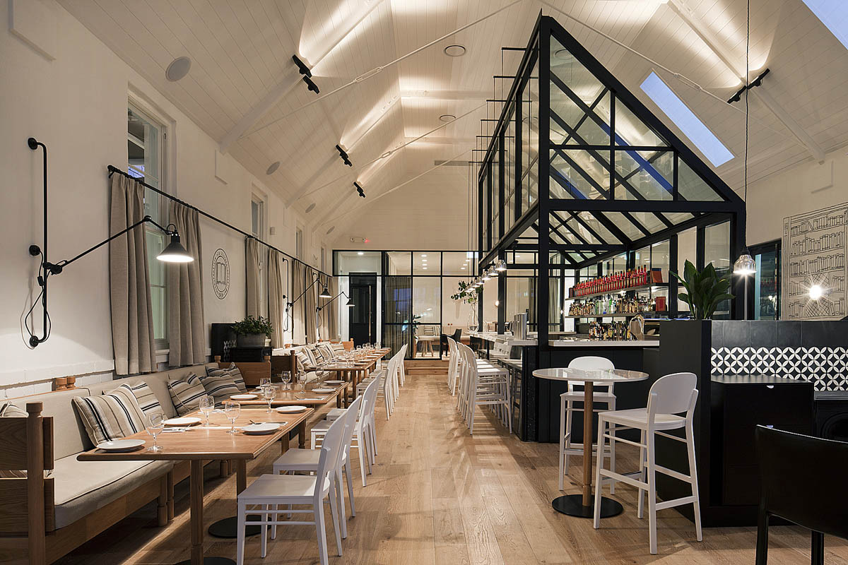 Kaper Design Restaurant & Hospitality Design Inspiration The Old Library