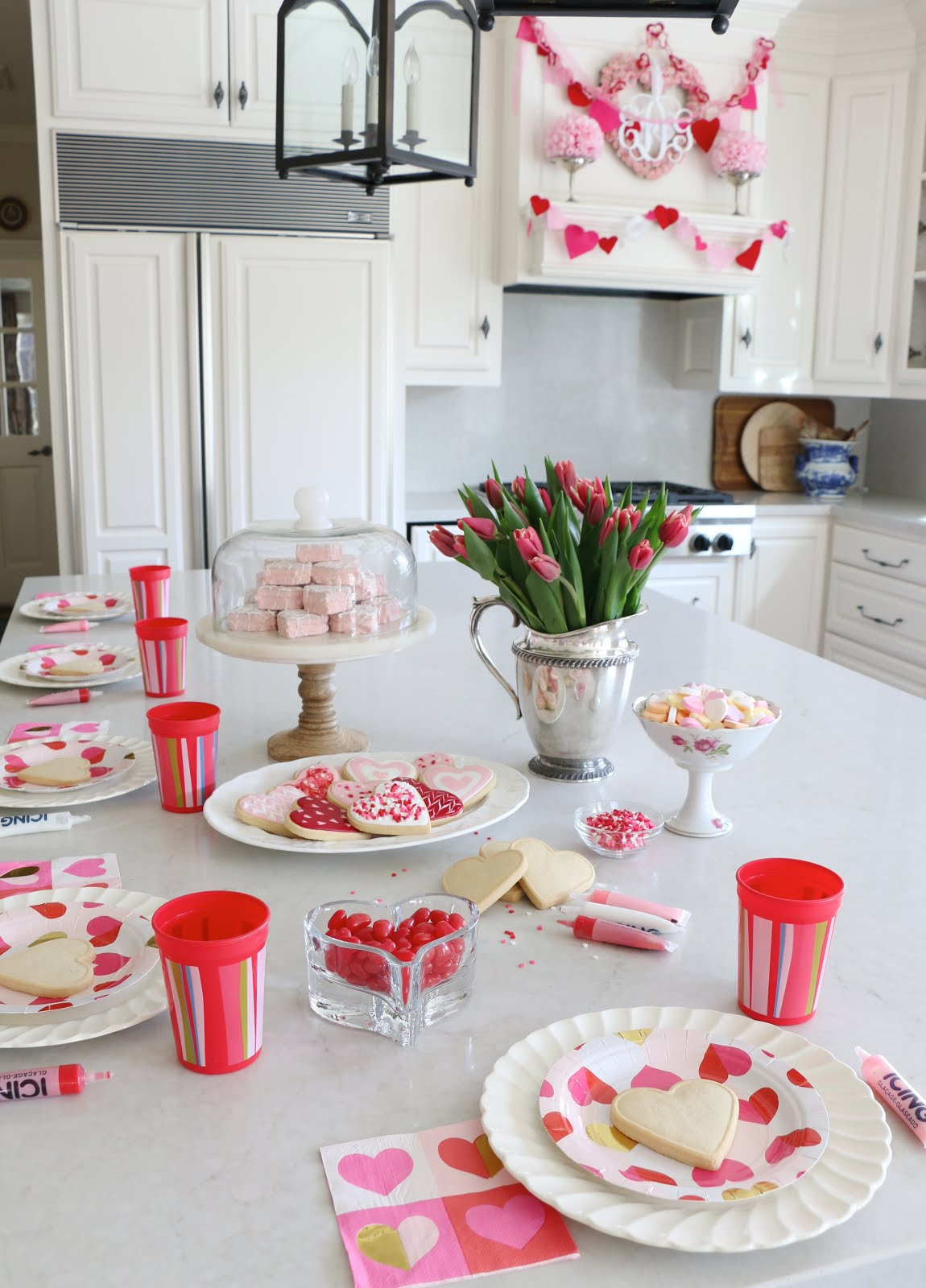 Eleven Gables: How to have an EASY, NO STRESS Valentine Party for ...