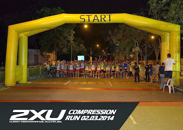 F1 RUNNERS' TEAM AT 2XU COMPRESSION RUN 21KM START LINE