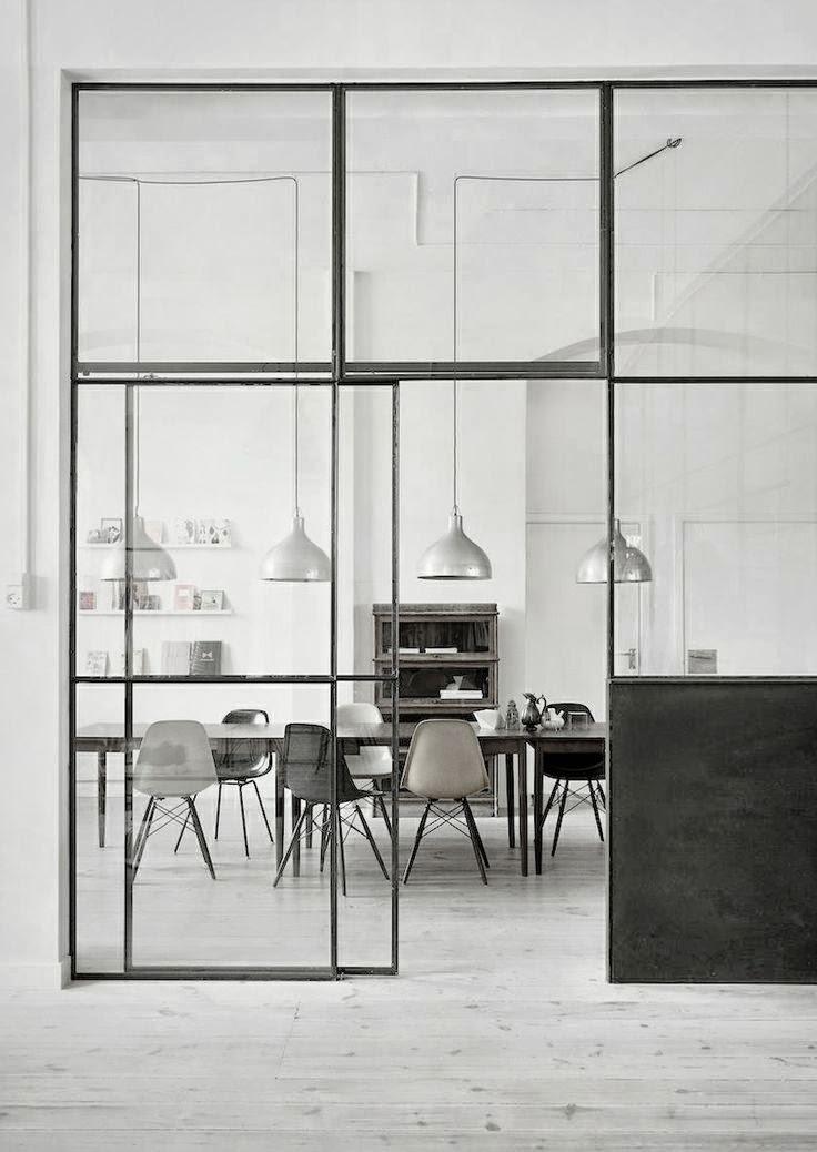 Interior relooking: le vetrate interne non sono semplicemente dei ...