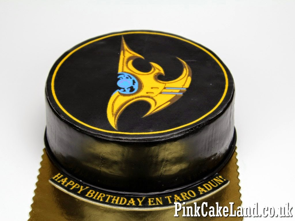Starcraft Birthday Cake