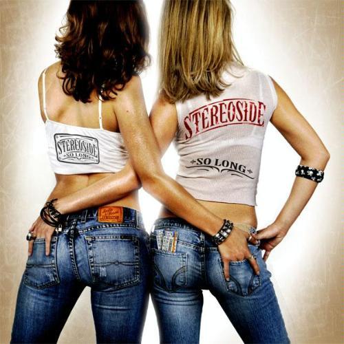 Rock album cover two women