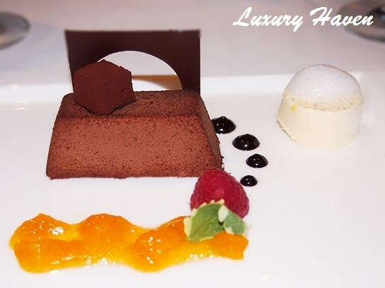 cat cora ocean restaurant after eight mint chocolate dessert