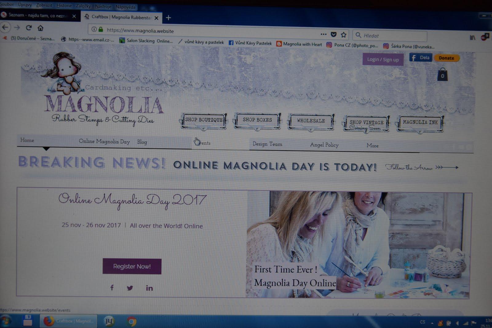 Online Magnolia Day 2017