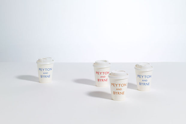Peyton and Byrne, Farrow, caja, box, bakery, Londres, London, diseño, design, brand, vasos