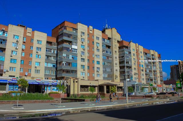 Улица Свободы Славянск после войны